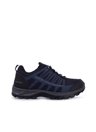 Soft Cotton Sneakers Lacivert
